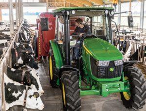 john deere yeni 5e serisi traktör