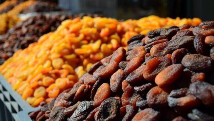 6 aylık kuru kayısı ihracatı 162 milyon dolara ulaştı