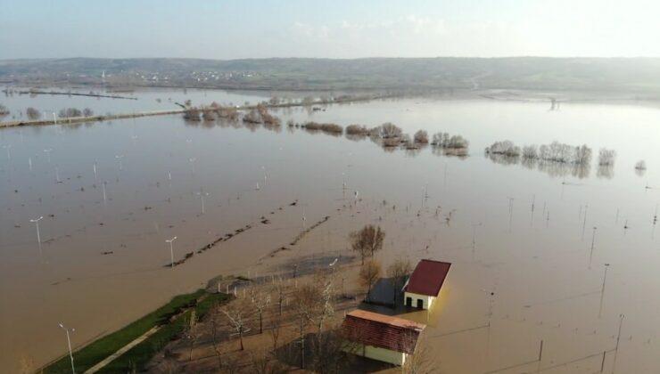 tarım arazileri sular altında kaldı
