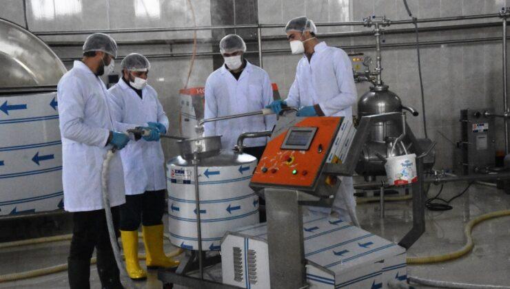 yüzde 50 hibe desteğiyle süt ürünleri tesisi kurdu arttı
