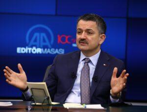 tarım ve orman bakanı pakdemirli: istanbul, izmir ve ankara için bu yıl suyla ilgili problem yok