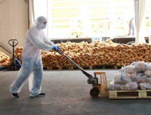 çiftçilerden satın alınan ürünler istanbul'da dağıtılmaya başlandı