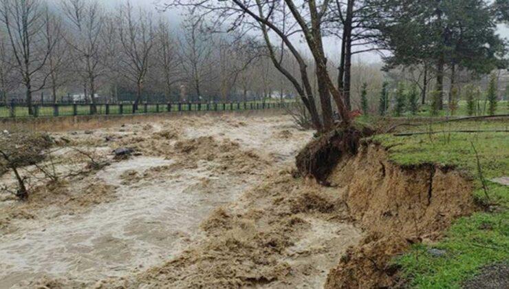 sağanak yağmur tarım arazilerini sular altında bıraktı