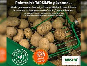 "tarsim: ""patates ürününüz güvende"""