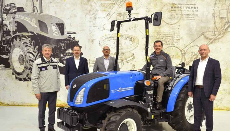 türktraktör yepyeni bir traktörünün daha ihracatına başladı