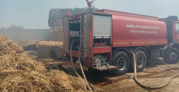 ekin ve samanlık yangınları arttı itfaiye uyardı