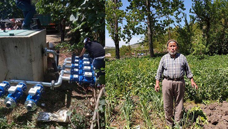 yüzlerce çiftçinin sulama çilesi