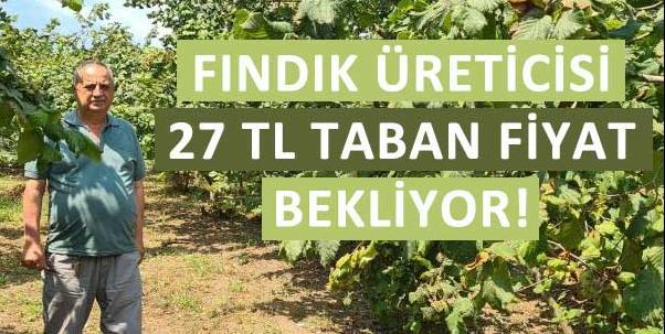 Fındık üreticisi 27 TL taban fiyat ve erken açıklama bekliyor