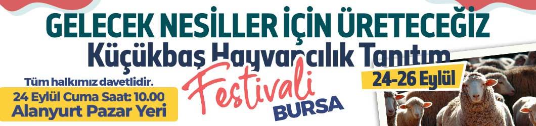 Küçükbaş Festivali Bursa 2021