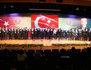 gaziantep'in yıldızları ödül töreni'nde ipek yem ödüle layık görüldü