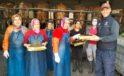 Büyükbaş hayvan çiftliğinde, 15 Ekim Dünya Kadın Çiftçiler Günü kutlandı