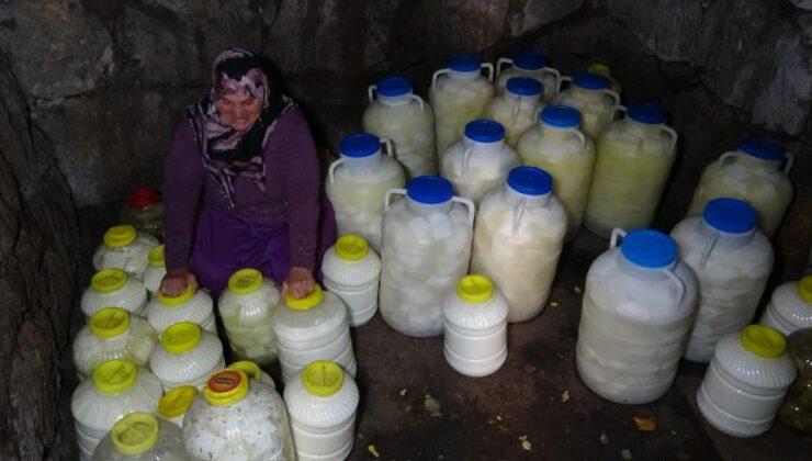 muş'ta doğal buzdolabı geleneği