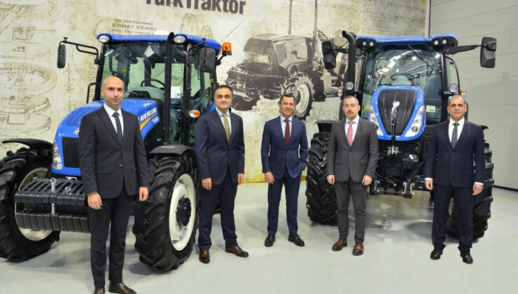türktraktör yeni modelleriyle bursa tarım ve hayvancılık fuarı'nda
